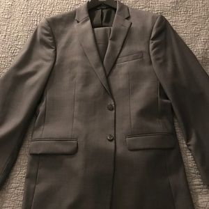 Jos. A. Bank gray suit